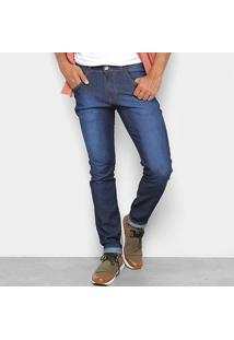 Calça Jeans Coffee Skinny Destroyed Masculina - Masculino-Jeans
