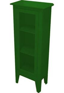 Cristaleira Colonial 1 Porta Atz 113 - Verde