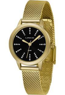 Kit Relógio Feminino Lince Lrgh123L-Kx13P1Kx Analógico 5Atm + Pulseira