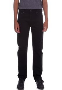 Calça Jeans Levis 513 Slim Straight Preto