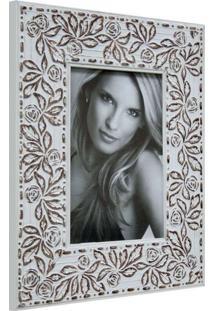 Porta Retrato De Mesa Para Foto 10X15 Cm Roses I