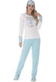Pijama De Inverno Tradicional Victory Feminino - Feminino
