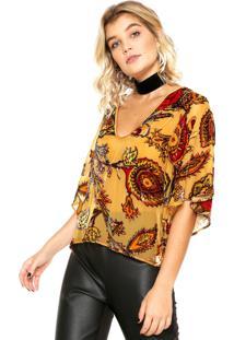 b8035cd49 Blusa Amarela Colcci feminina | Shoelover