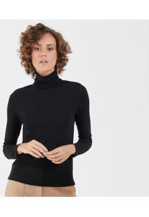 Liz Easywear Blusa Gola Alta Feminina - Feminino