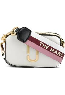 The Marc Jacobs Bolsa Transversal Snapshot - Branco
