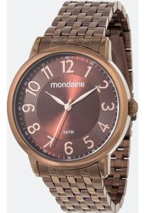 Kit Relógio Feminino Mondaine 53673Lpmvme2Ka Analógico 5Atm + Pulseira