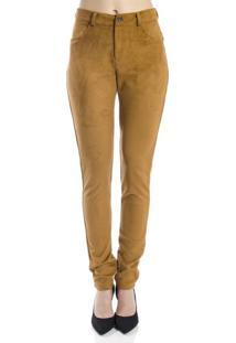 Dafiti Calça Jeans Denim Zero Colorida Skinny Média Caramelo. Ir para a  loja  Calça Handbook Skinny Suede Caramelo 6216bed77f55a