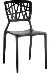 Cadeira Melissa Preto Rivatti Móveis