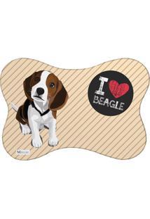 Tapete Pet Mdecore Beagle Bege 46X33Cm