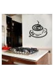 Adesivo De Parede Para Cozinha Xícara De Café 6 - Pequeno