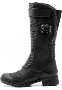 Bota Atron Shoes Motociclista Impermeável - Unissex