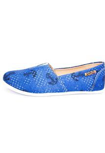 Alpargata Quality Shoes 001 Jeans Âncora - Kanui