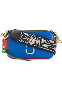 Marc Jacobs Bolsa Transversal Pequena 'Snapshot' - Azul