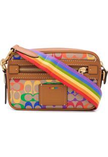 Coach Bolsa Transversal Academy Rainbow - Neutro