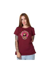 Camiseta Chico Science Bordô