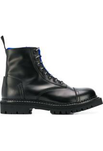 Kenzo Pike Ankle Boots - Preto