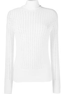 L'Autre Chose Blusa Gola Alta - Branco