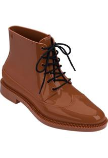 Bota Brogue High- Marrom Claromelissa