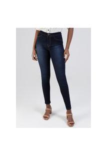 Calça Jeans Skinny Fit For Me Lunender Feminina Azul