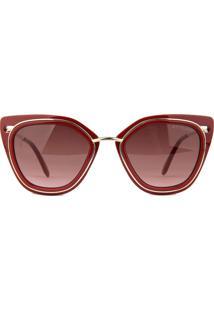 Óculos De Sol Atitude At5351 D01/51 Bordô