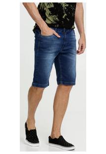 Bermuda Masculina Jeans