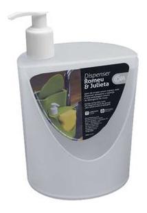 Porta Sabonete Líquido Rj 600Ml Branco Coza