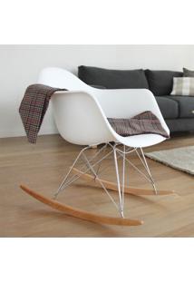 Cadeira Eames Dar Balanço Preto