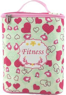 Bolsa Tã©Rmica Bbbag Para Nutriã§Ã£O Fitness Rosa - Rosa - Feminino - Dafiti
