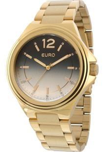 Relogio Euro - Eu2035Xyg/4A - Feminino-Dourado