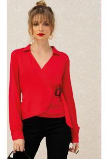 Blusa Vermelho