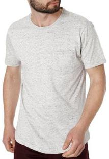 Camiseta Vels Manga Curta Masculina - Masculino-Cinza