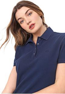 Camisa Polo Carmim Caliman Azul-Marinho