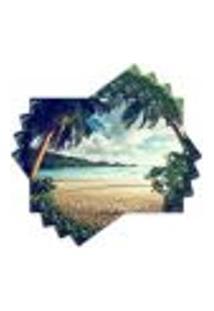 Jogo Americano - Praia Com 4 Peças - 369Jo
