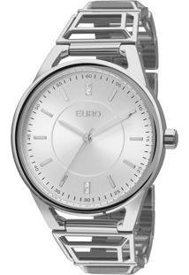 Relógio Feminino Tribal Eu2035Yep/3K - Prata