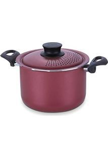 Espagueteira De Alumínio Com Revestimento Interno De Antiaderente Dimetro 20Cm, Tramontina, 20535720, Vermelho, Medio