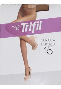 Meia-Calça Feminina Trifil Fio 15 Mel