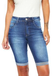 Bermuda Jeans Biotipo Soft Azul