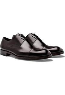 Sapato Social Brogan Derby Tom Masculino - Masculino-Café