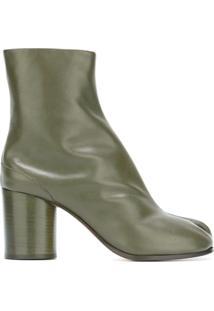 Maison Margiela Ankle Boot De Couro Modelo 'Tabi' - Green