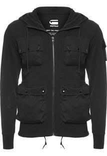 Casaco Kriyo Hooded Vest - Preto