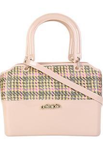 Bolsa Petite Jolie Handbag Feminina - Feminino-Bege+Verde
