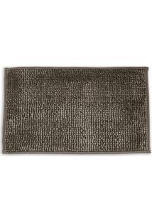 Tapete Microfibra Velt- Marrom- 60X40Cm- Buettnebuettner