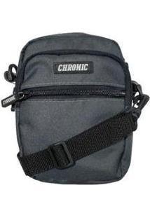 Bolsa Chronic Shoulder Bag C5 - Unissex-Cinza