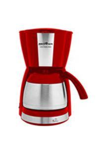 Cafeteira Britania Thermo Inox E Vermelha - Bcf38Vi