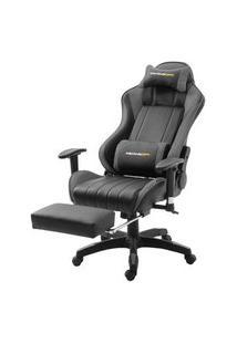 Cadeira Office Xsx Em Courino Preto E Cinza - 53539 Preto E Cinza
