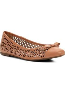 Sapatilha Shoestock Laser Basic - Feminino-Nude