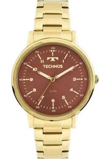 Relógio Technos Dress 2035Mfn/4R Dourado 2035Mfn/4R - Feminino