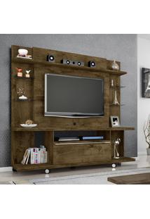 Estante Home Móveis Bechara New Torino Tv Até 50 Pol 1 Porta Rústico