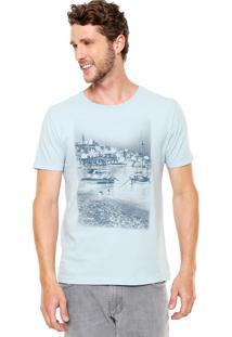 Camiseta Aramis Regular Fit Barcos Azul