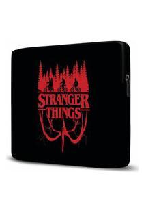 Capa Para Notebook Stranger Things 15 Polegadas Com Bolso